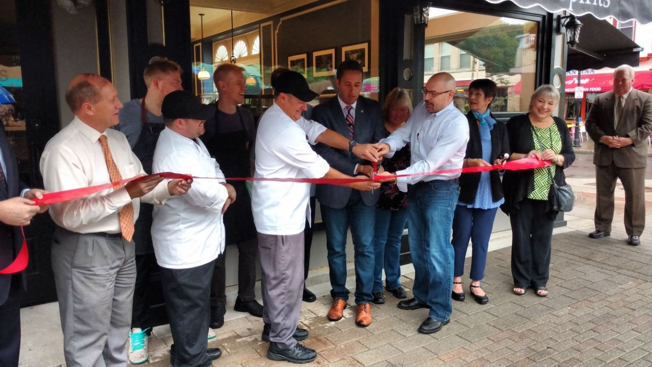 Simeons Restaurant In Ithaca Cuts Ribbon Officially Open For